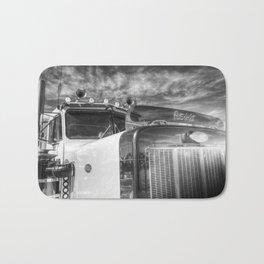 Peterbilt American Truck Bath Mat