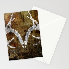 Real Tree Horns Stationery Cards