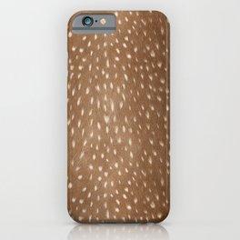 Deer Hide iPhone Case
