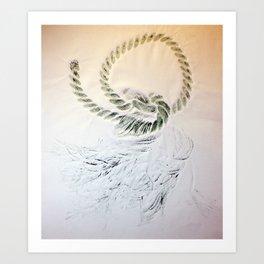 Rope II Art Print