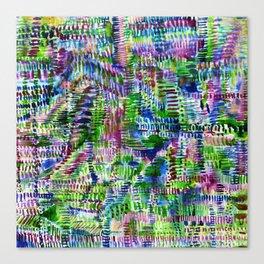 Torrential Jungle Canvas Print