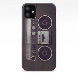 Retro Boombox iPhone Case