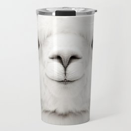 SMILING ALPACA Travel Mug