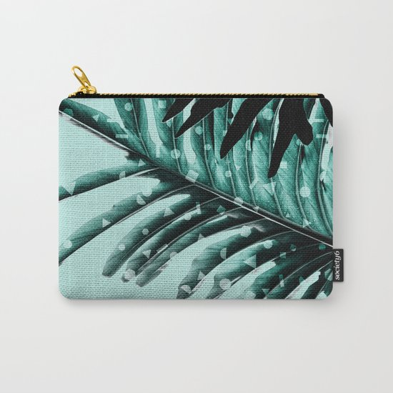 Leaves 2 Geometry Carry-All Pouch