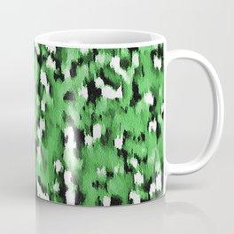 Green Leopard Pattern Coffee Mug