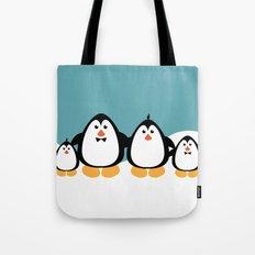 NGWINI - penguin family v4 Tote Bag