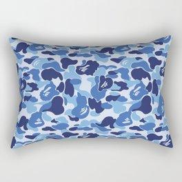BAPE CAMO BLUE Rectangular Pillow