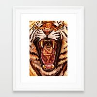 predator Framed Art Prints featuring Predator by Studio Catawampus