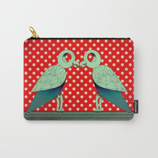 parrot dot ! Carry-All Pouch