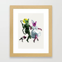 Dance, Chauncey, Dance - French Bulldog Framed Art Print