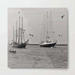 Hanse SAIL - Warnemuende - Baltic Sea  Metal Print