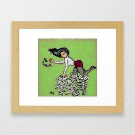 PAY ME Framed Art Print