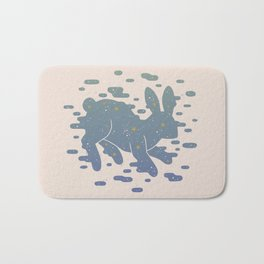 Lepus Constellation: Pastel Bath Mat