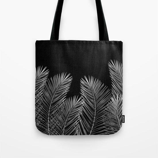 Dark Palm Skies Tote Bag