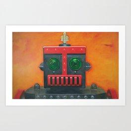 Robert the Robot Art Print