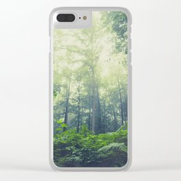 SummEr grEEn Clear iPhone Case