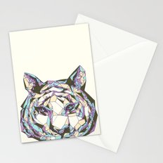 Crystal Tiger Stationery Cards