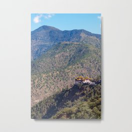 Bhutan: Trashigang Dzong Metal Print
