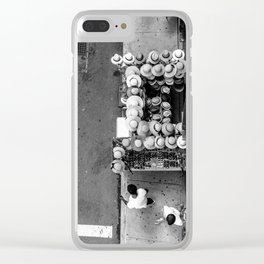 The Hat Stand (NYC) Clear iPhone Case