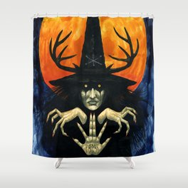 Autumn Conjurer Shower Curtain
