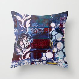 Plant Connections Throw Pillow