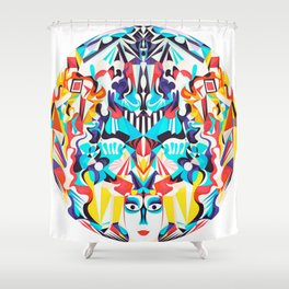 Adore Everything Shower Curtain