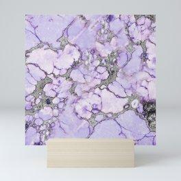 Lavender Marble Mini Art Print