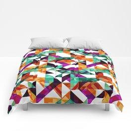 Aztec Geometric VI Comforters