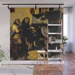 Decamps' The Experts - Der Roj study Wall Mural