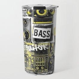 Beats, Bass & Guitar. Travel Mug