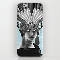 grace iPhone & iPod Skins featuring Grace by Thömas McMahon