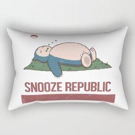 Snooze Republic Rectangular Pillow