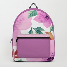 FLOWERS WATERCOLOR XXV Backpack