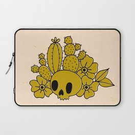 Skull and Cactus Laptop Sleeve