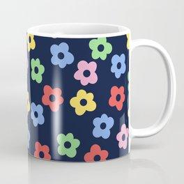 Ditsy Bib Flower Pattern Coffee Mug