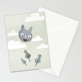 Cat in the Sky. Stationery Cards