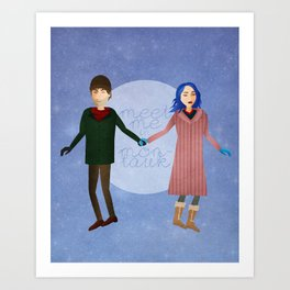 Meet me in Montauk Art Print
