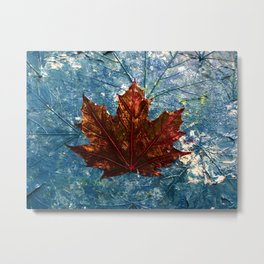 The Beginning of the End (Maple Num.1) Metal Print