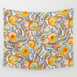 Bright apples Wall Tapestry