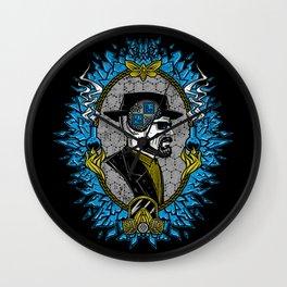 Framing (He)isen(Be)rg Wall Clock