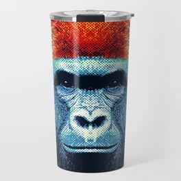 Gorilla -  Colorful Animals Travel Mug