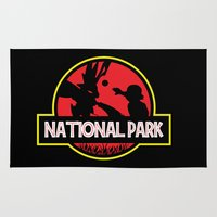 the national Area & Throw Rugs featuring National Park by EnoLa