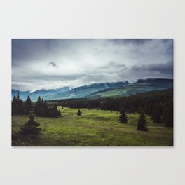 Mountain Trail - Landscape and Nature Photography Canvas Print