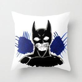 batcat Throw Pillow
