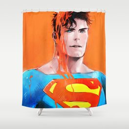 Color serial 06 Shower Curtain