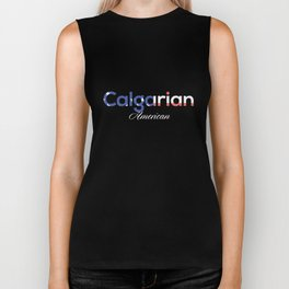 Calgarian American Biker Tank