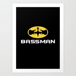 Bassman Art Print