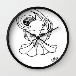 Fae Boy Clown  Wall Clock