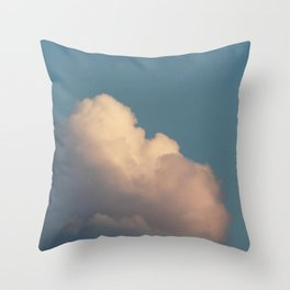 Be | sky photography  Throw Pillow