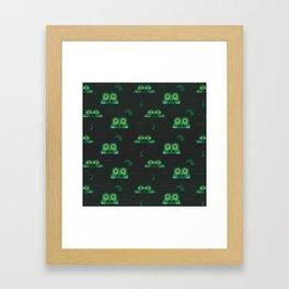 See you later alligator (Patterns Please) Framed Art Print
